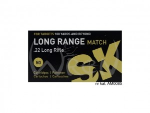 LAPUA .22LR SK LONG RANGE MATCH (50 SZT.) nr kat. AM0085